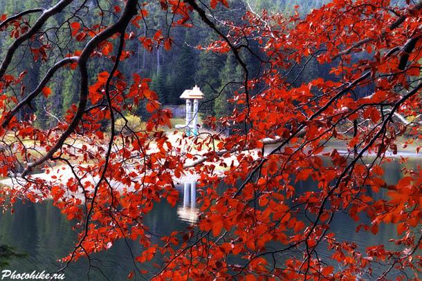 Закарпатье, озеро Синевир