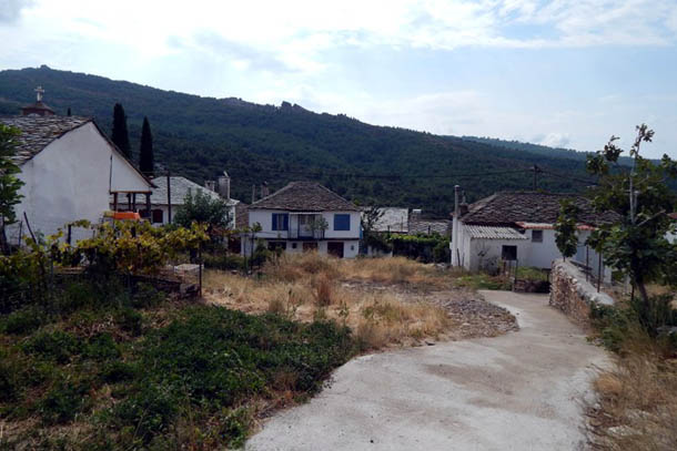 панорама деревни