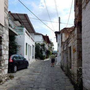 Теологос — горная деревня на острове Тасос