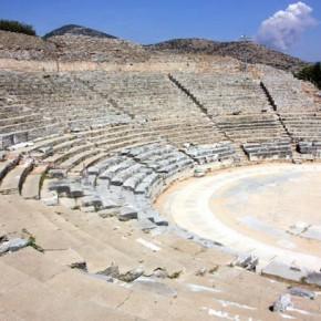Амфитеатр в древних Филиппах