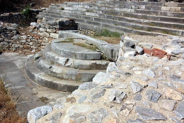 древние ступени