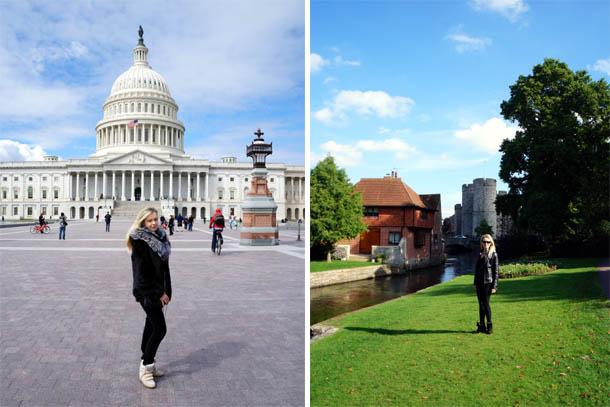 Вашингтон и английская деревня