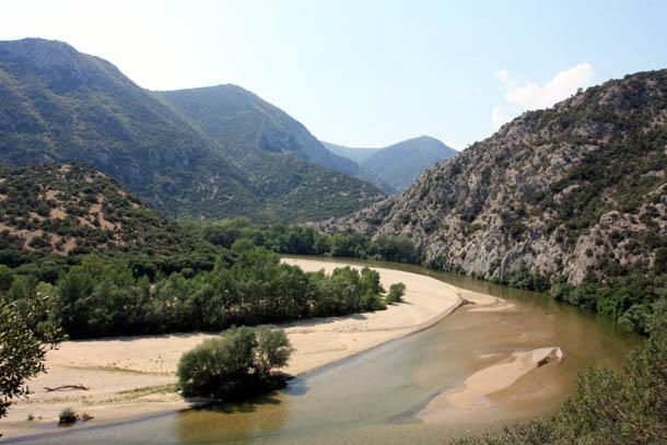 вид на реку Нестос