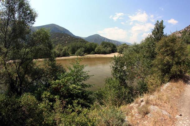 река Нестос в северной Греции