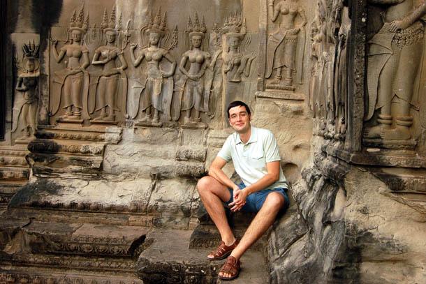 Камбоджа. Сием Рип, храм Ангкор Ват