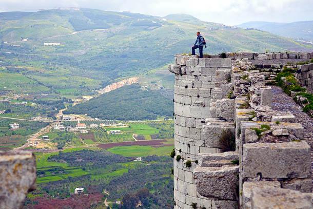 Замок Крак-де-Шевалье, Сирия