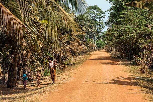 Глухая камбоджийская деревня