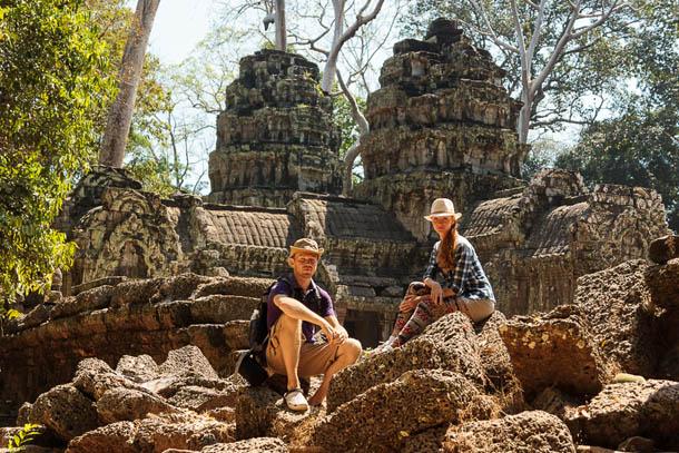Та-Пром, камбоджийский Ангкор