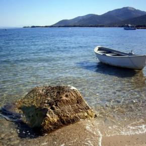Скала Принос — порт на острове Тасос