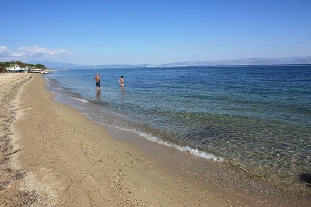 Пляж в Скала Принос
