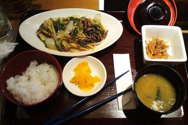 В одном из ресторанов Токио