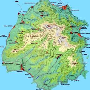 Расписание автобусов на острове Тасос