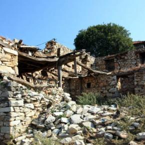 Заброшенная деревня в Греции