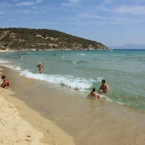 Амолофи — один из красивейших пляжей северной Греции