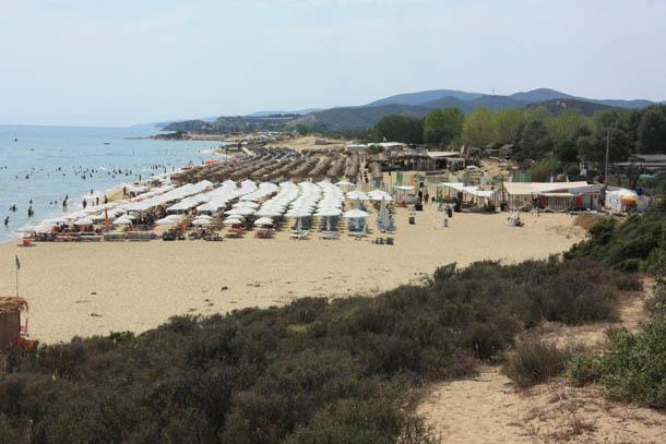 Один из лучших пляжей северной греции