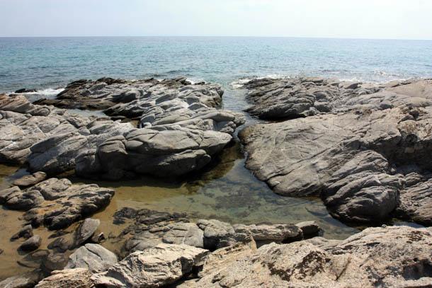 Вид на Эгейское море