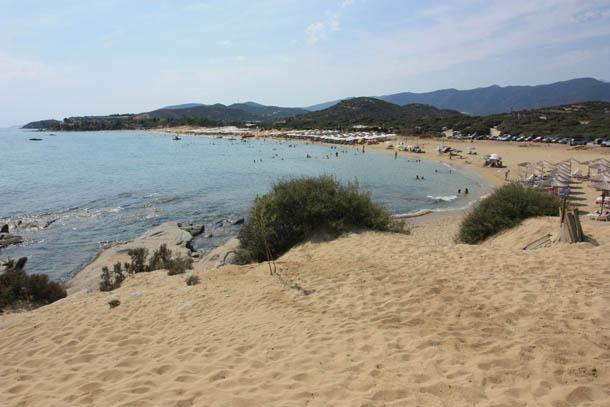 пляж в Амолофи