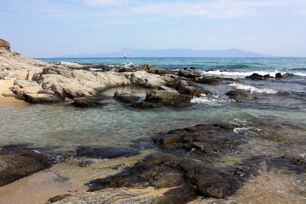 Красивый вид побережья