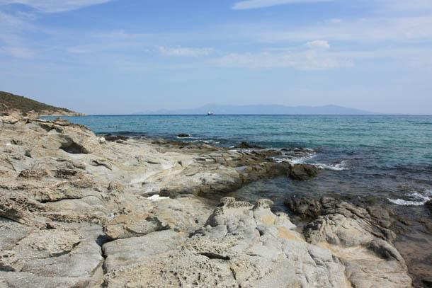 берег моря в Греции