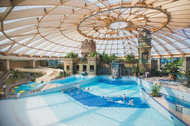 Aquaworld в Будапеште, Венгрия