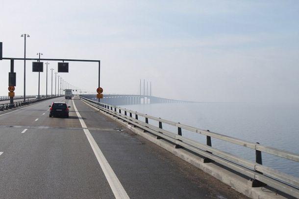 Автомобильная дорога на Эресуннском мосту