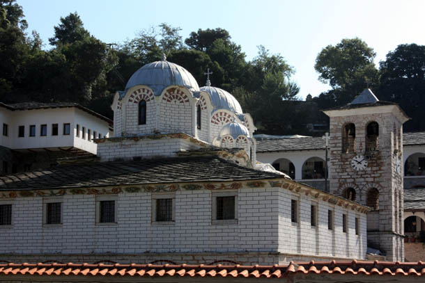 купола монастыря Икосифинисса