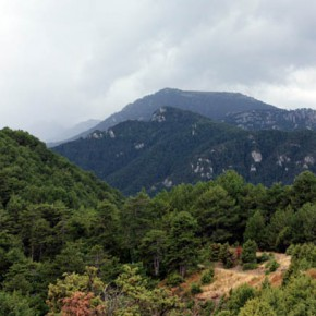 Гора Олимп — панорама со смотровой площадки