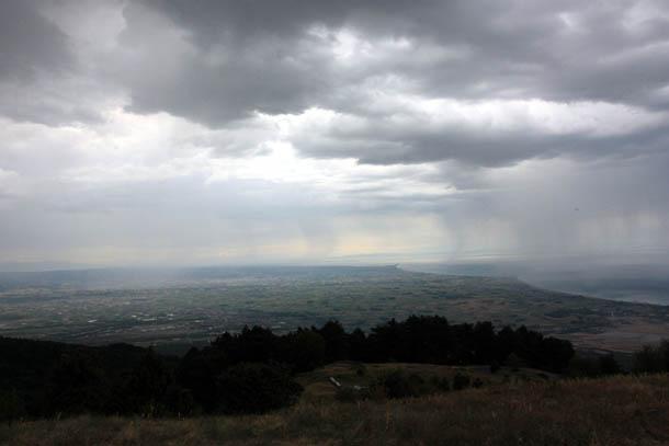 Облака перед дождем