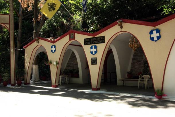вид на Церковь Св. Параскевы