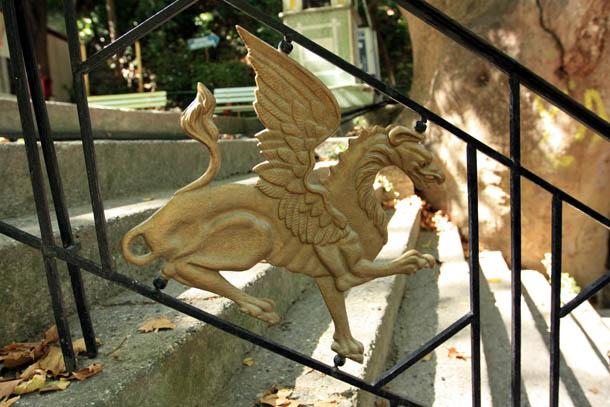 Ограда лестницы