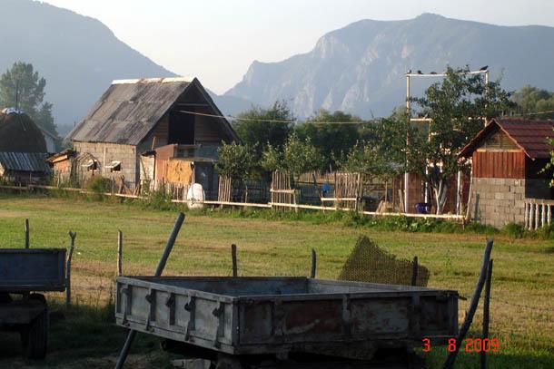 Горное село Ржаница, Черногория