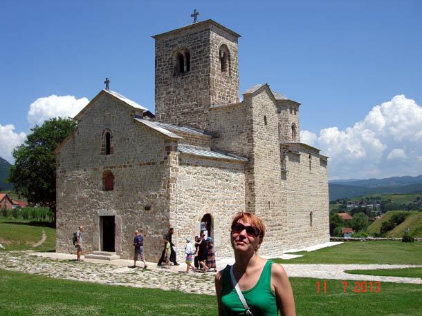 Церковь Джорджови ступови, г. Беране, Черногория.