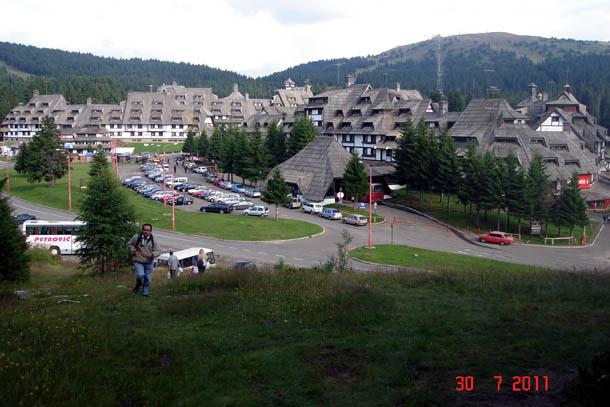 Гостиница на горе Копаоник, Сербия.