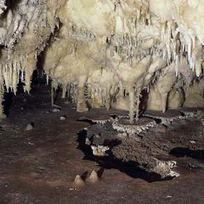 Пещера Алистрати в северной Греции