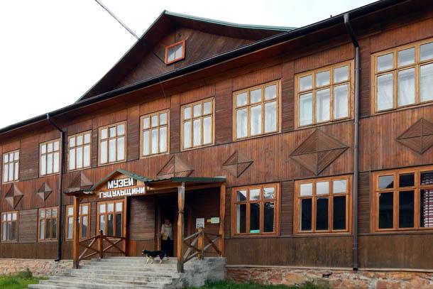 Музей Гуцульщины в центре Верховины (Жабье)