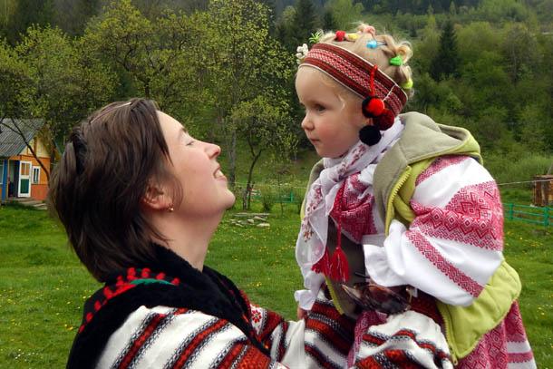 Галина с дочерью