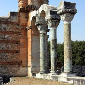Археологический заповедник в Филиппах
