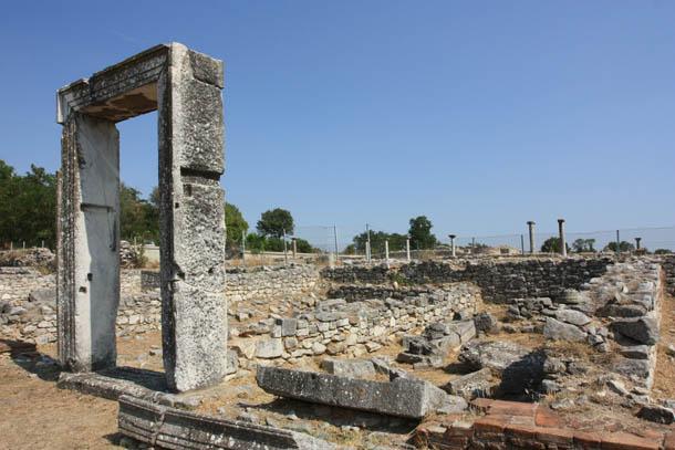 панорама археологического заповедника