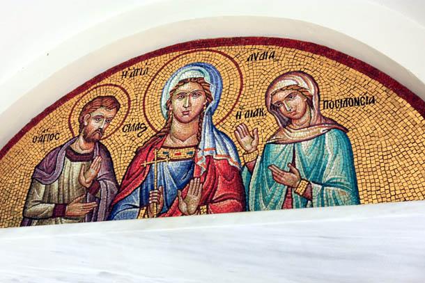 лики святых