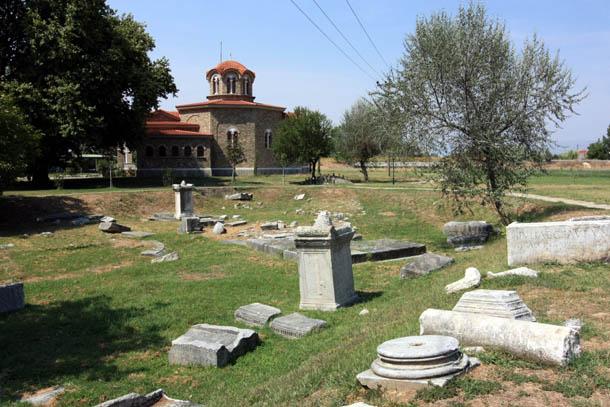 останки древних строений