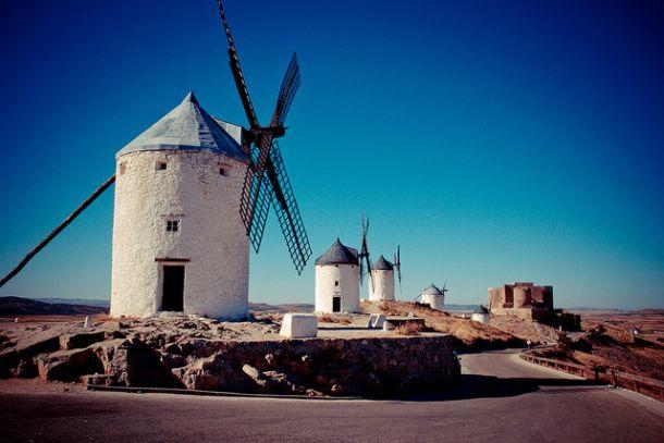 Мельницы Дон Кихота в Испании