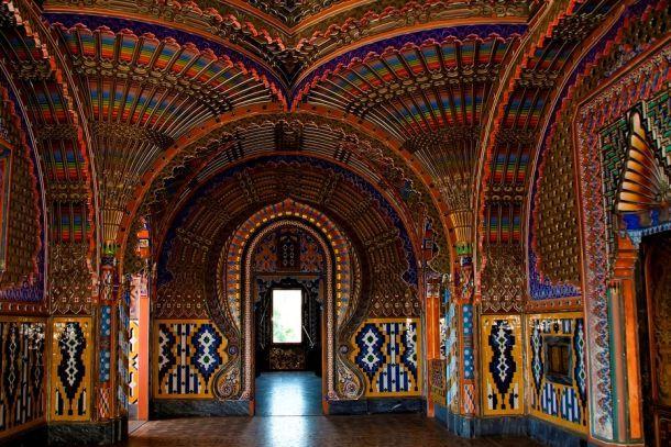 Замок Саммеццано изнутри