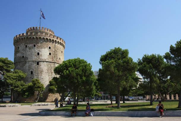 башня в Салониках