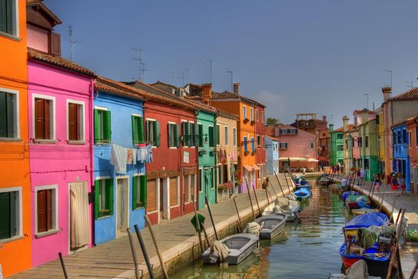 Бурано — разноцветный остров в Венеции