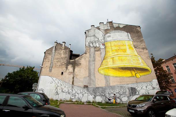 граффити колокол