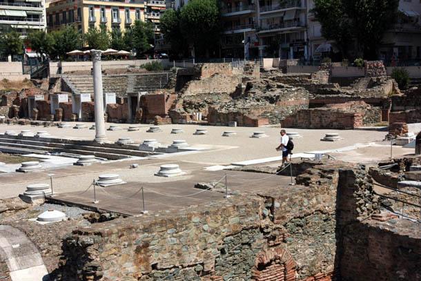 Римский форум Салоники