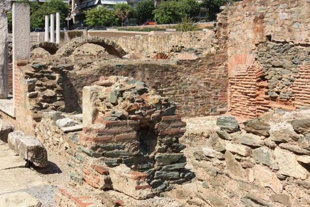 римский форум в Салониках