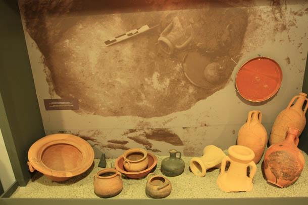 останки посуды