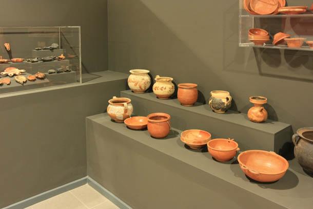 посуда - экспонаты музея