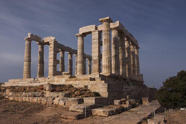 Храм Посейдона в Греции